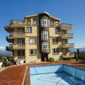 Zu verkaufen: Ländlich gelegene 2-SZ Apartments mit Pool- und Bergblick in Manavgat/Sarilar